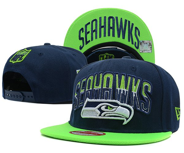Seattle Seahawks NFL Snapback Hat SD 2306